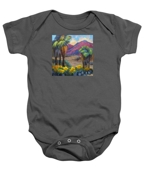 Indian Canyon In Spring Baby Onesie