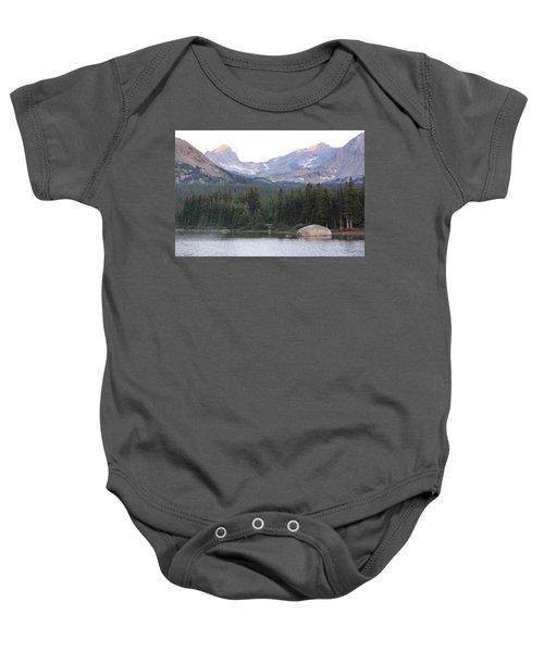 Indian Peaks Baby Onesie