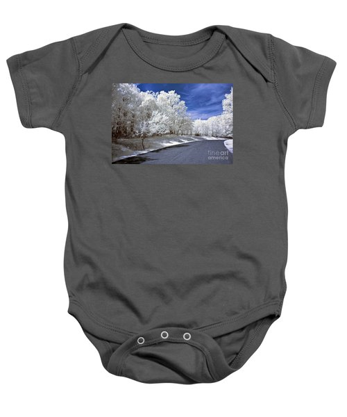 Infrared Road Baby Onesie