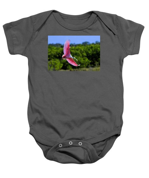 Into The Morning Light Baby Onesie