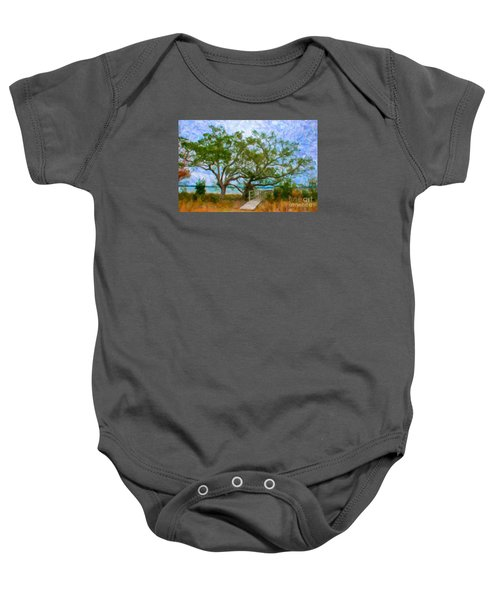 Island Time On Daniel Island Baby Onesie