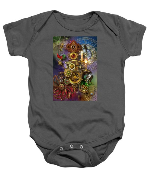 Its About Time Baby Onesie by Ciro Marchetti