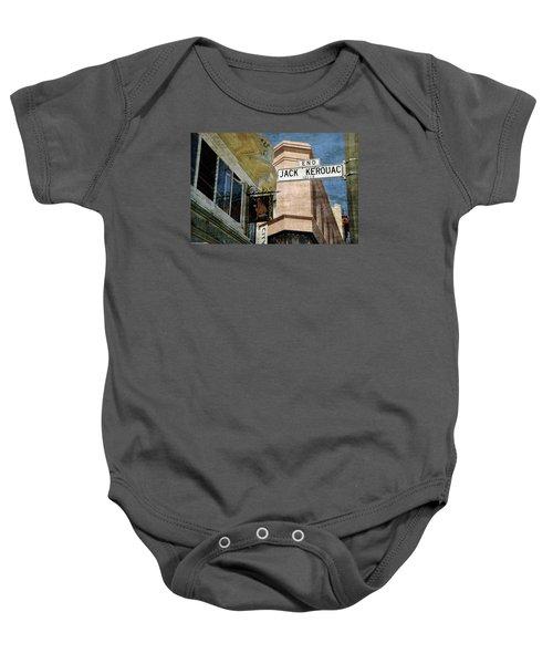 Jack Kerouac Alley And Vesuvio Pub Baby Onesie
