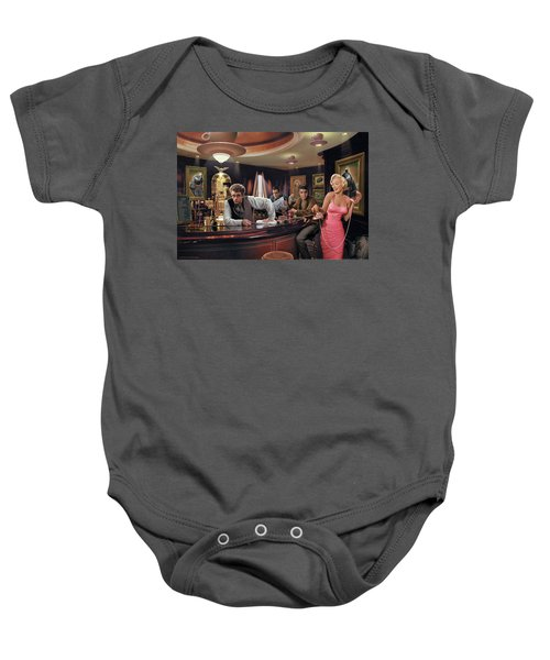 Java Dreams Baby Onesie by Chris Consani