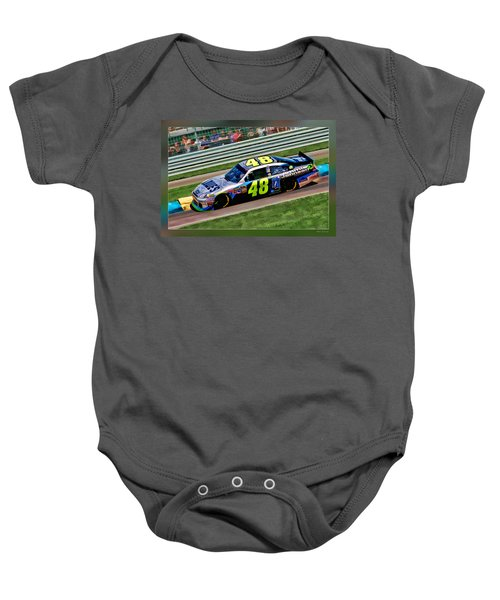 Jimmie Johnson Baby Onesie