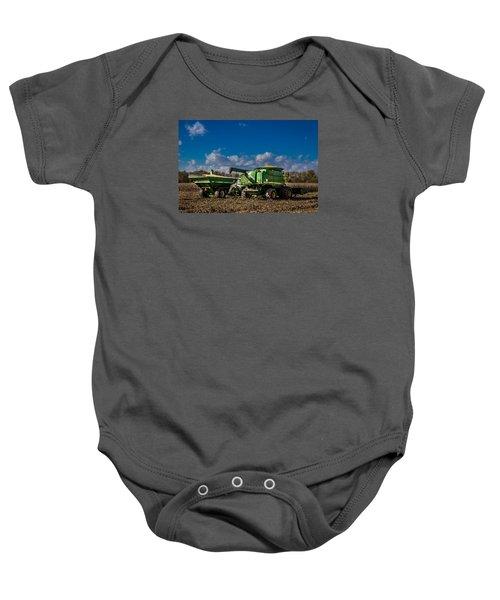 John Deere Combine 9770 Baby Onesie
