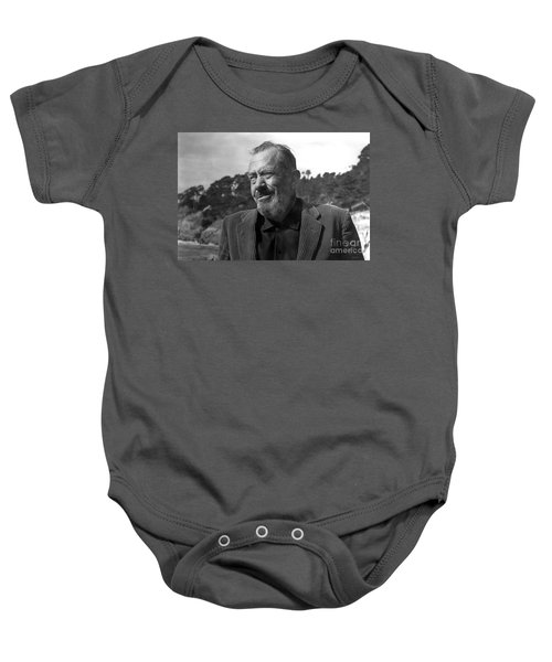 John Steinbeck Pebble Beach, Monterey, California 1960 Baby Onesie