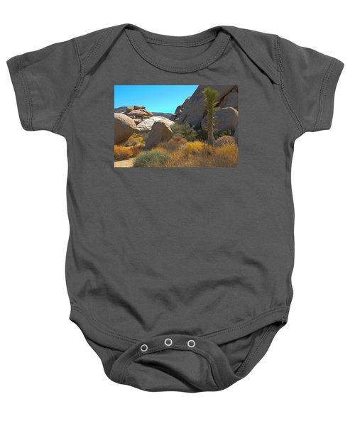Joshua Tree National Park Baby Onesie