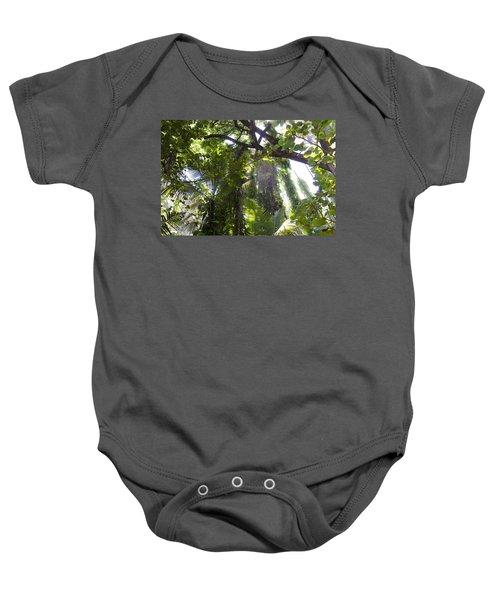 Jungle Canopy Baby Onesie