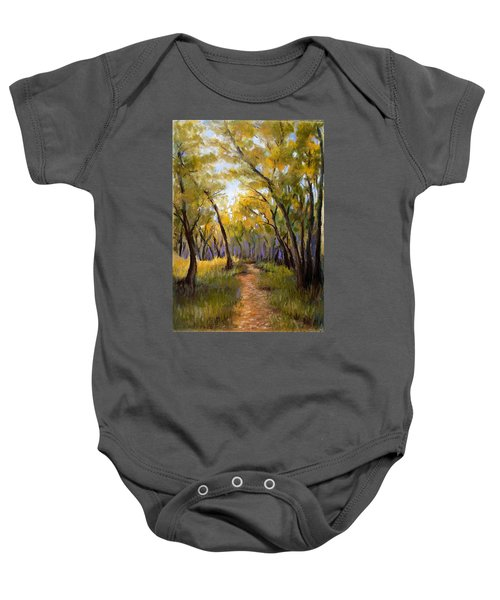 Just Before Autumn Baby Onesie