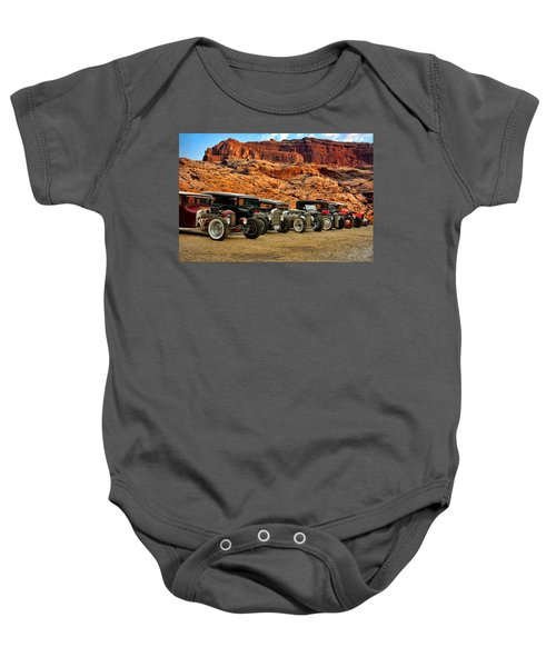 Kansas City Rat Rods And Hot Rods Baby Onesie