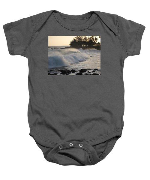 Kauai - Brenecke Beach Surf Baby Onesie