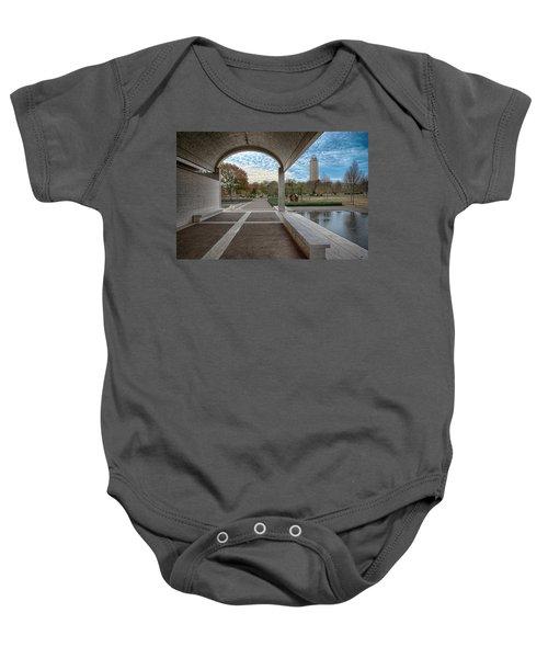 Kimbell Art Museum Fort Worth Baby Onesie