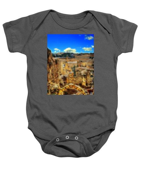 Peaceful Israel Baby Onesie