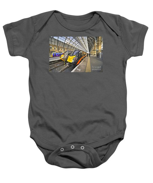 Kings Cross Variety  Baby Onesie by Rob Hawkins