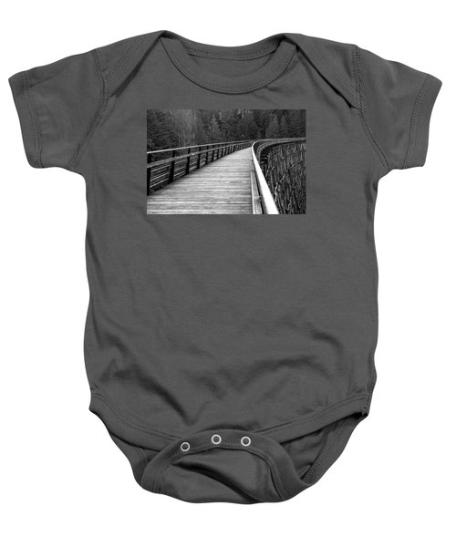 Kinsol Trestle Boardwalk  Baby Onesie