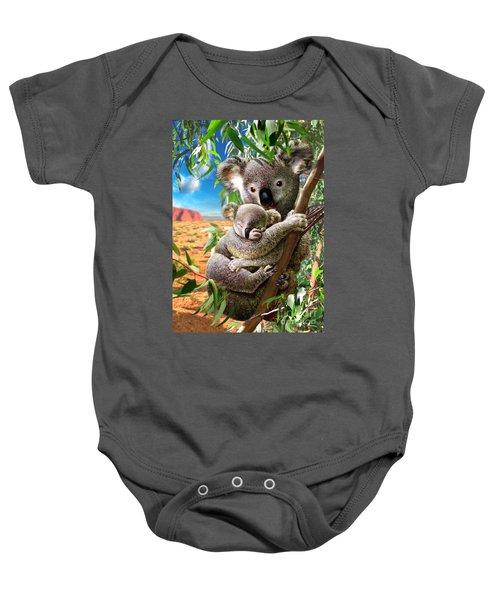Koala And Cub Baby Onesie