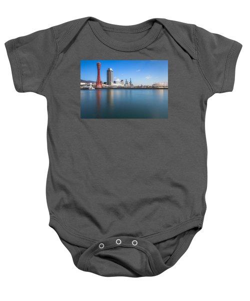 Kobe Port Island Tower Baby Onesie