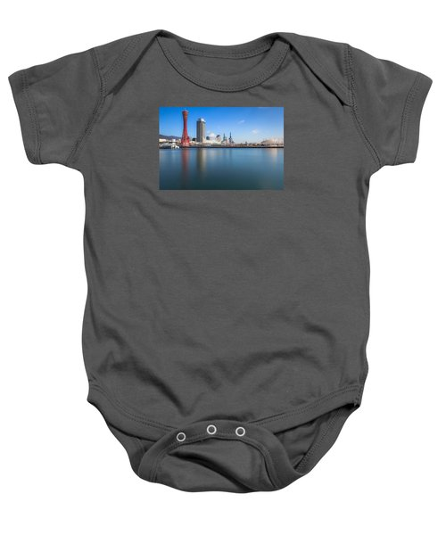 Kobe Port Island Tower Baby Onesie