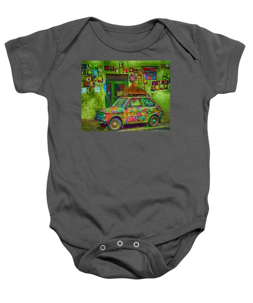 Color On The Road Baby Onesie