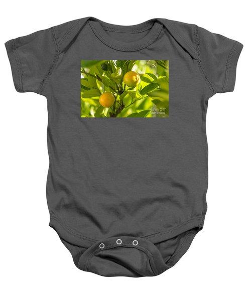 Kumquats Baby Onesie