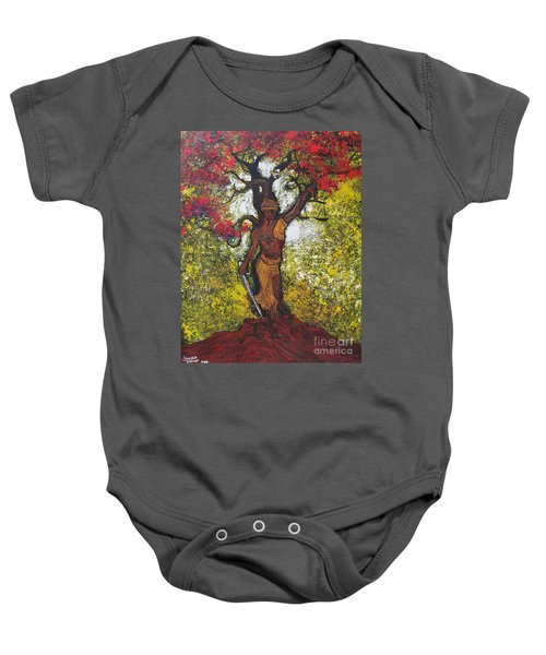 Lady Of Justice Baby Onesie