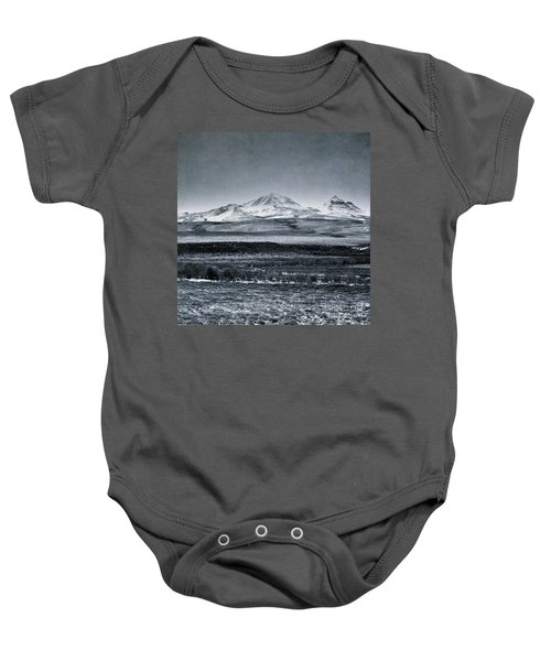 Land Shapes 7 Baby Onesie