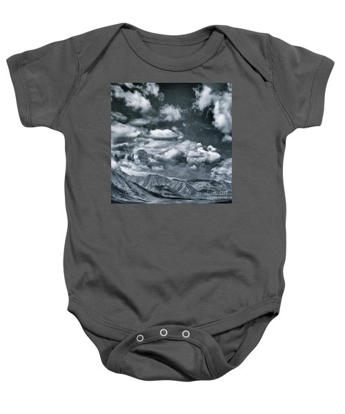 Land Shapes 28 Baby Onesie