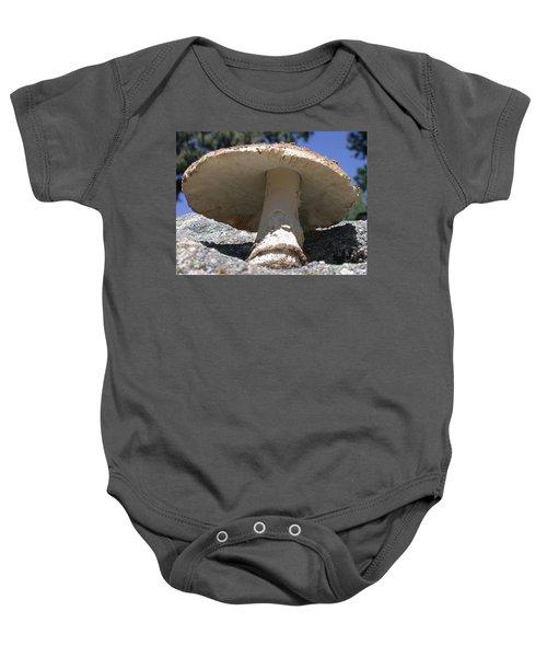 Large Mushroom Baby Onesie