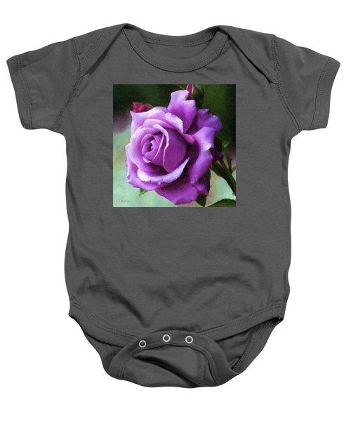 Lavender Lady Baby Onesie