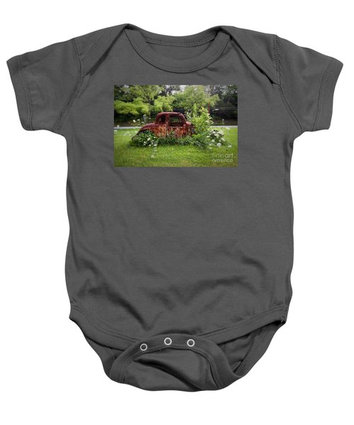 Lawn Ornament Baby Onesie