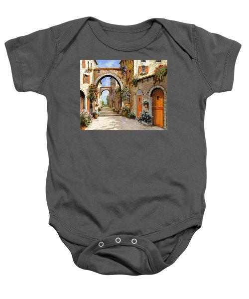 Le Porte Rosse Sulla Strada Baby Onesie