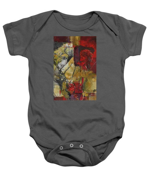 Led Zeppelin Baby Onesie by Corporate Art Task Force