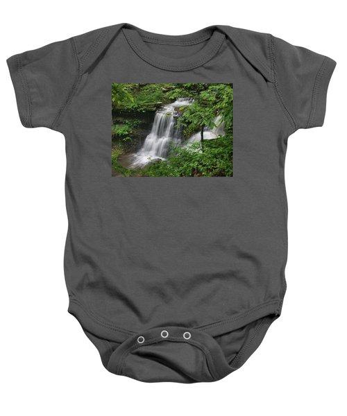 Lichen Falls Ozark National Forest Baby Onesie
