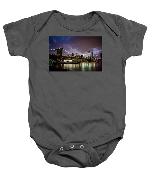 Light Up The Night Baby Onesie