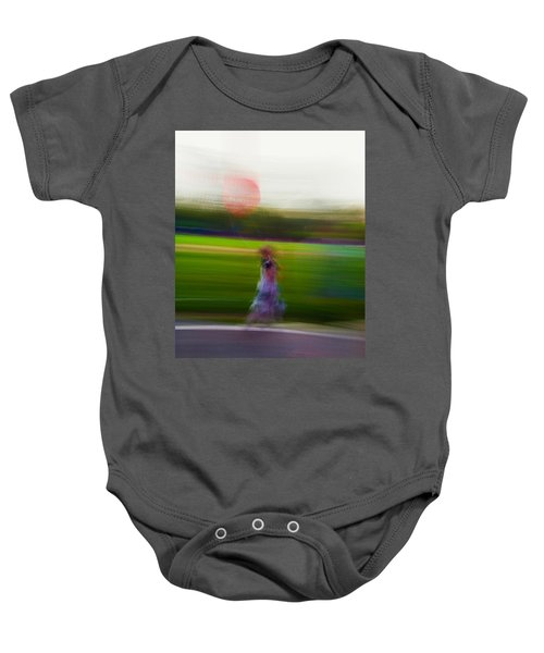 Baby Onesie featuring the photograph Lighter Than Air by Alex Lapidus
