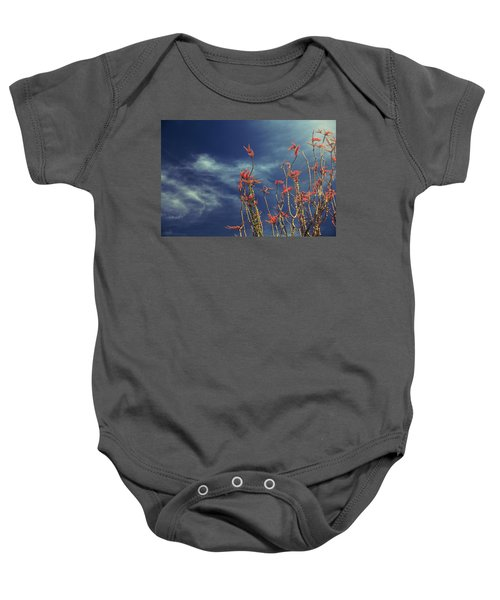 Like Flying Amongst The Clouds Baby Onesie