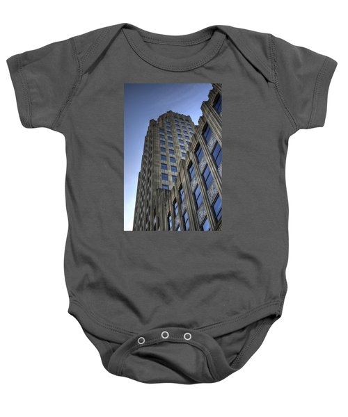 Lincoln Building Baby Onesie