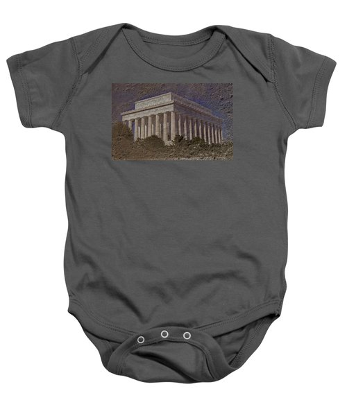 Lincoln Memorial Baby Onesie by Skip Willits
