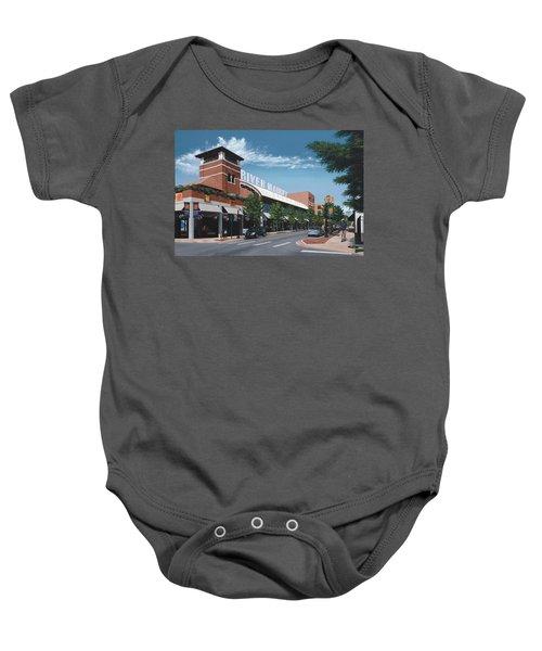 Little Rock River Market Baby Onesie