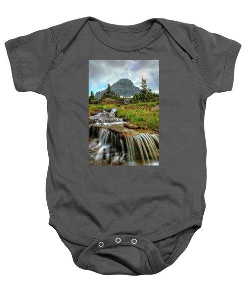 Logan Cascades Baby Onesie
