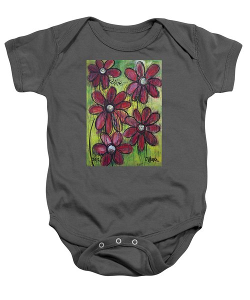 Love For Five Daisies Baby Onesie