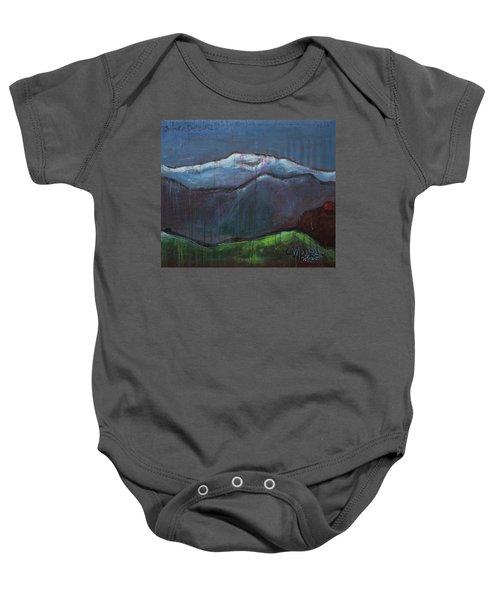 Love For Pikes Peak Baby Onesie