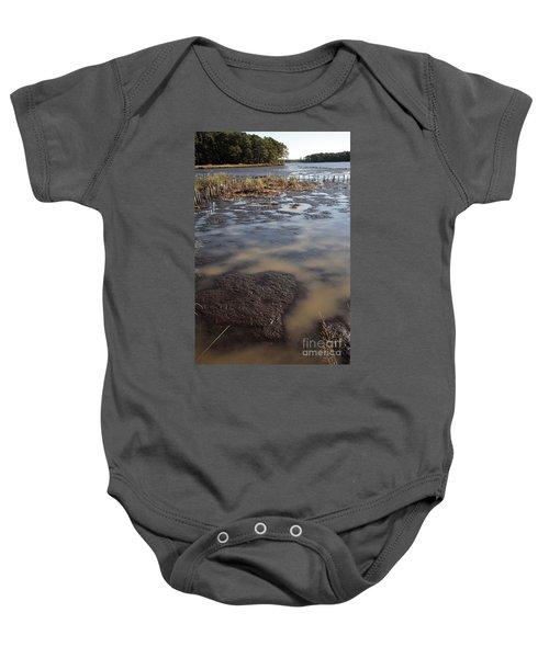 Low Tide At Blackwater Wildlife Refuge In Maryland Baby Onesie