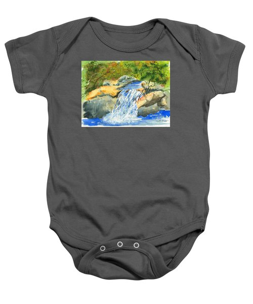 Lower Burch Creek Baby Onesie