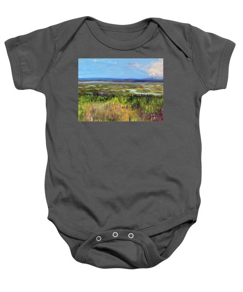 Lupine Of Fort Hill Baby Onesie