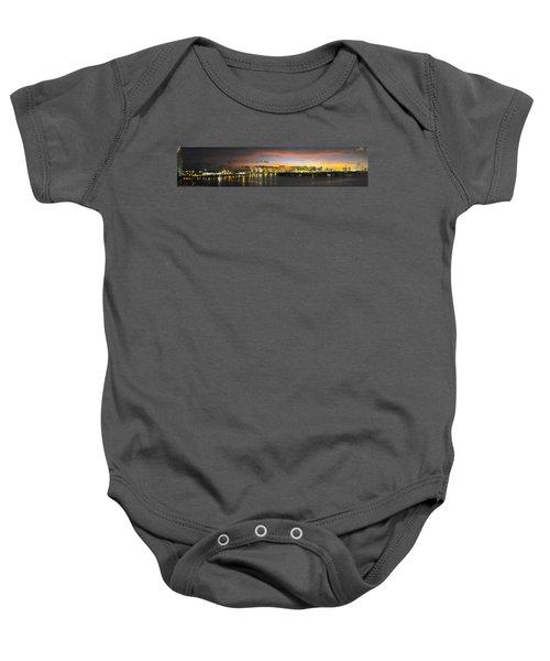 Macarthur Causeway Bridge Baby Onesie