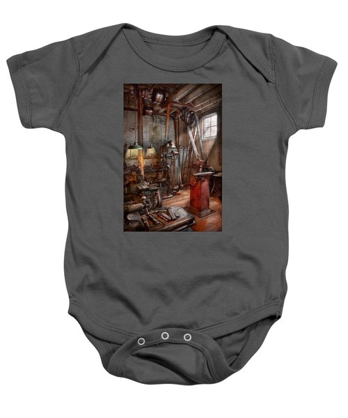 Machinist - The Modern Workshop  Baby Onesie