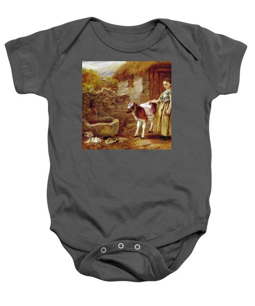 Maggie's Charge Baby Onesie
