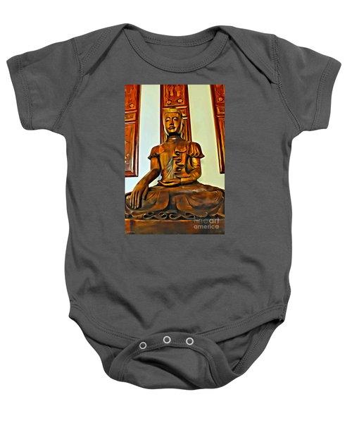 Majestic Buddha Baby Onesie
